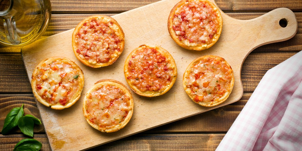 Receta Mini pizzas de boniato sencilla | Cocina rico