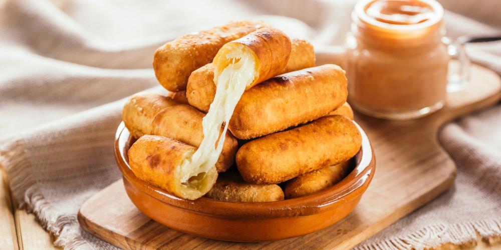Receta Tequeños venezolanos sencilla   Cocina rico