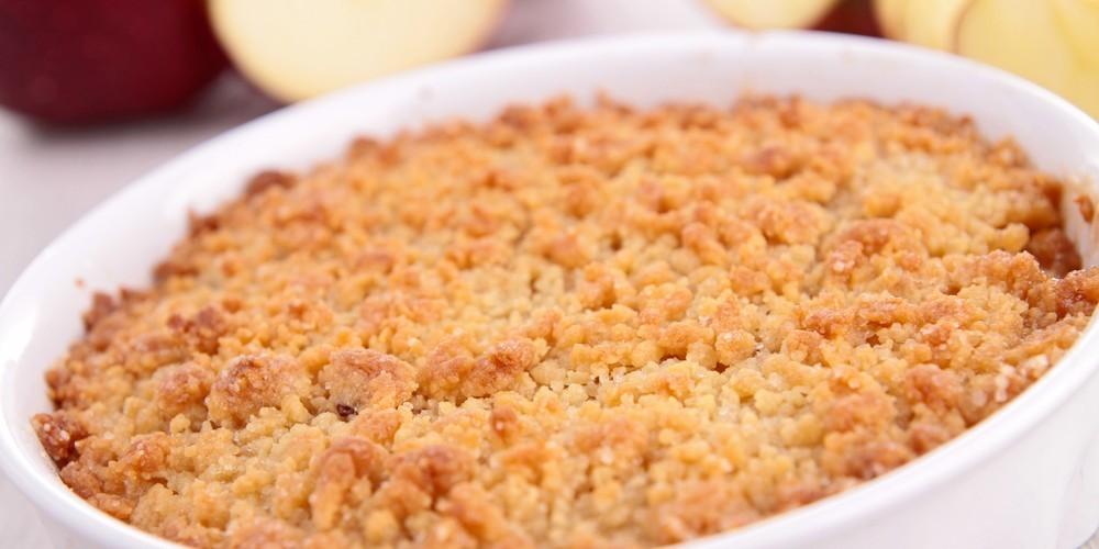 Receta Crumble De Manzana Sin Harina Sencilla Cocina Rico