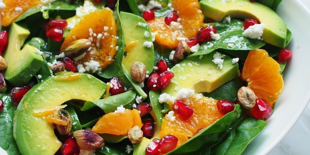 Receta Ensalada De Aguacate Naranjas Y Gambas Sencilla Cocina Rico